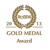 RoSPA Gold Medal for Occupational & Safety Awards 2013