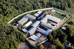 Aerial of Bullwood Hall Prison