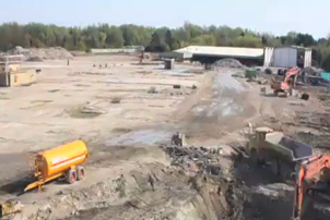 Hauxton Site Remediation Time-lapse
