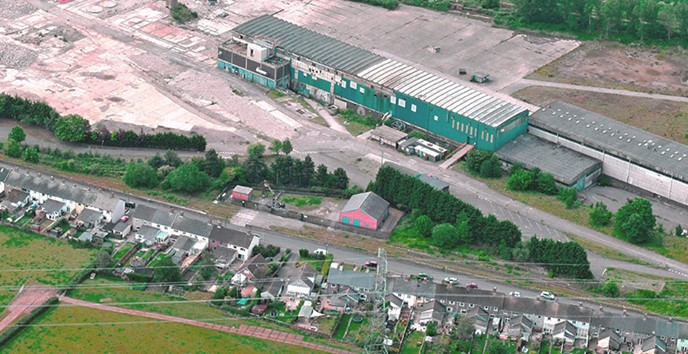 Harrow Estates sells the site - The Former Paper Mill at Sudbrook