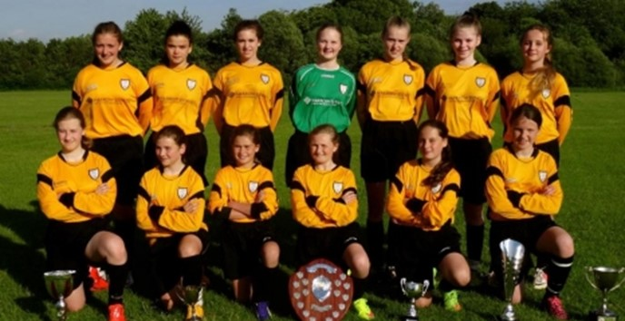Harrow Estates sponsors local under 12s girls football team